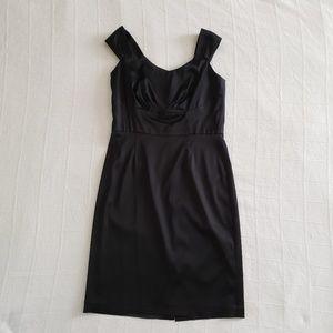 WHITE HOUSE BLACK MARKET Satin Sleeveless Dress 12